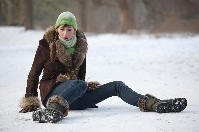 Slip & Fall On Snow